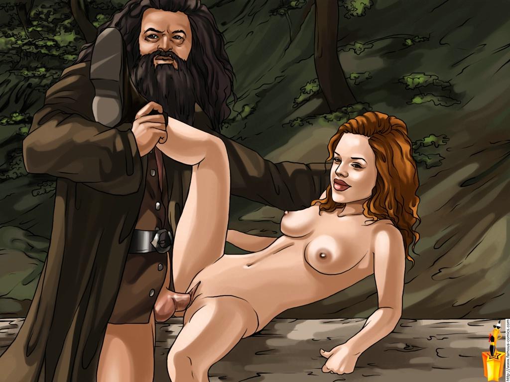 Порно пародия на гарри поттера смотреть онлайн