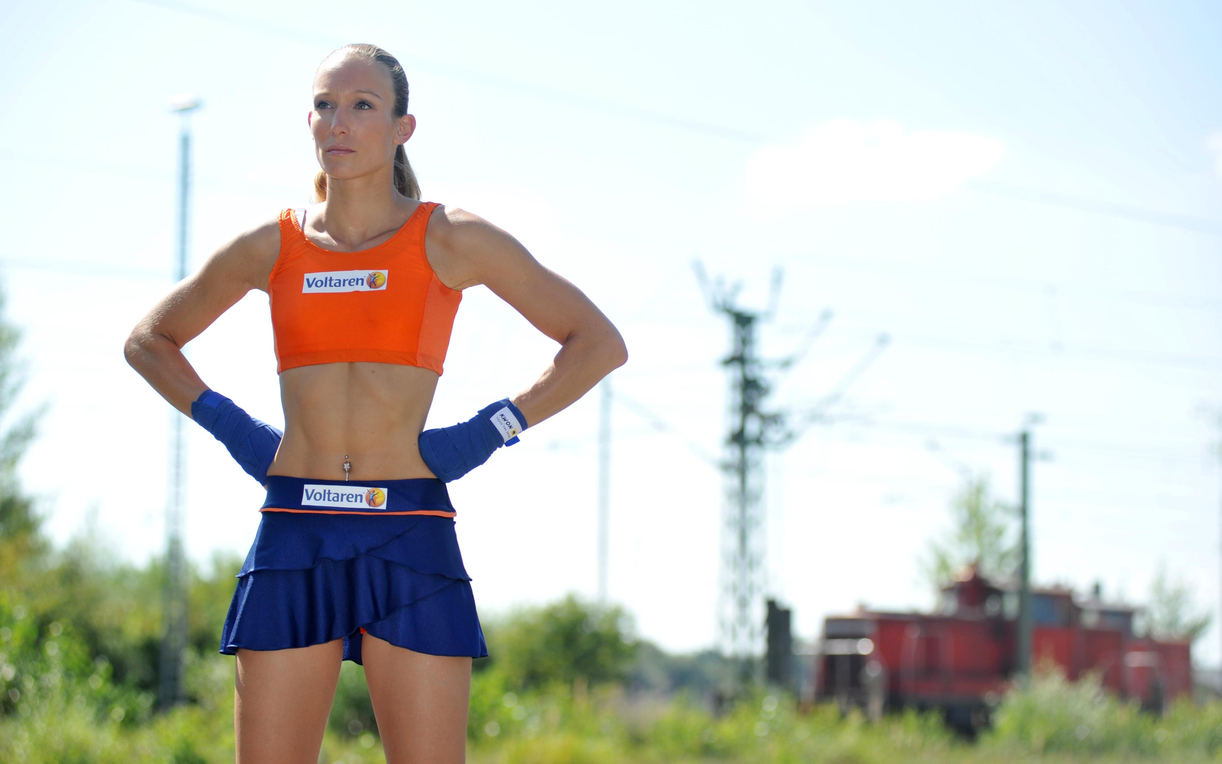 Christine Theiss Kickbox Photoshoot 2010 06